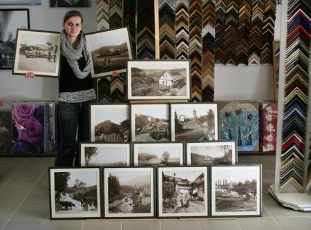1905886ec rámovanie, zákazkové rámovanie, realizácia, inšpirácie, dekorácie, staré  fotografie.